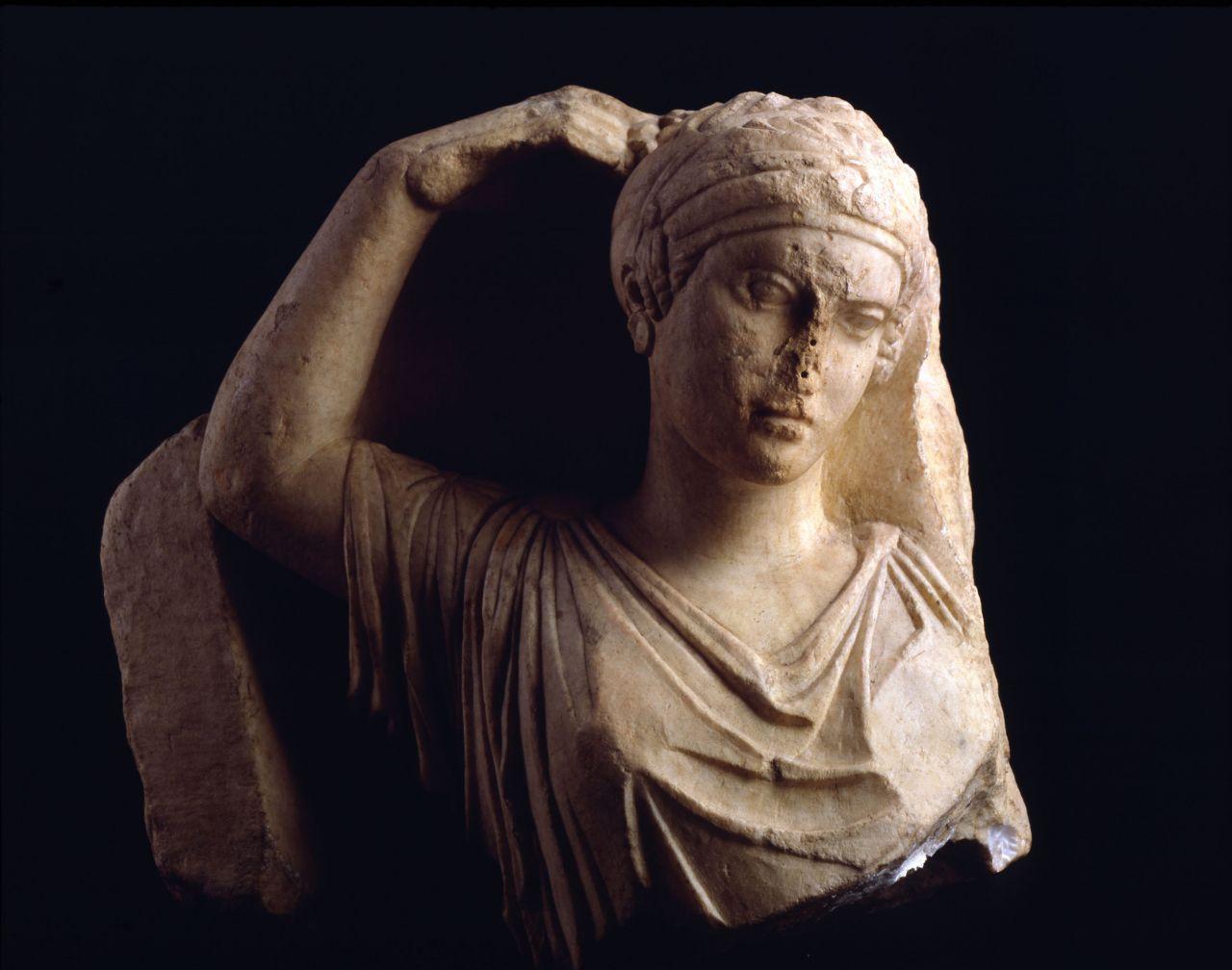 Musee Lapidaire Antiquites Grecques Steles Grecques Jeune